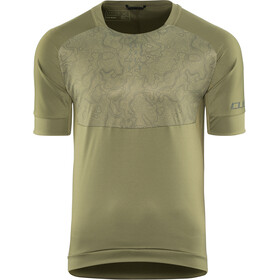 Cube AM Maillot manches courtes à col rond Homme, olive